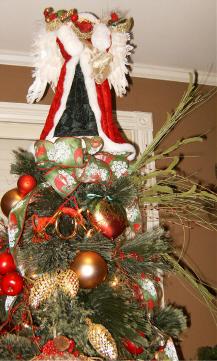 Christmas tree topper holders